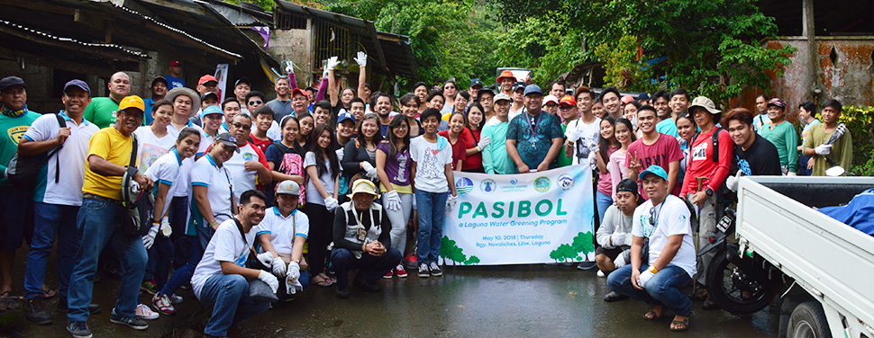 Laguna Water, in coordination with PENRO Laguna and the Municipal Government of Liliw, plants more than 500 seedlings in Liliw, Laguna.