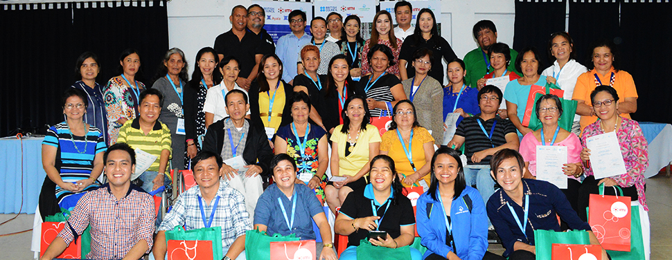 Empowering People. Laguna Water, in partnership with The British Council Philippines, Integrated Micro-Electronics, Inc. (IMI), Ayala Foundation, and Ayala Corporation conducted a capacity-building seminar for 14 community-based entrepreneurs in Laguna.