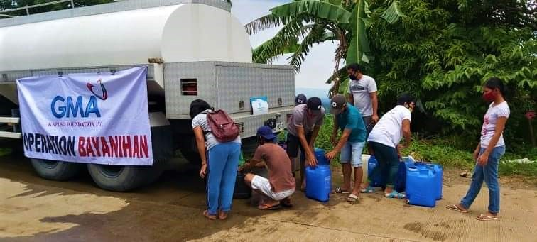 Laguna Water aids waterless community in Calaca, Batangas